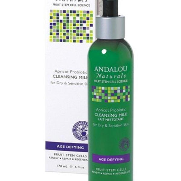 Andalou Naturals Andalou Age Defying Apricot Probiotic Cleansing Milk 178ml
