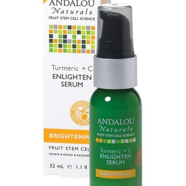Andalou Naturals Andalou Brightening Turmeric + C Enlighten Serum 32ml