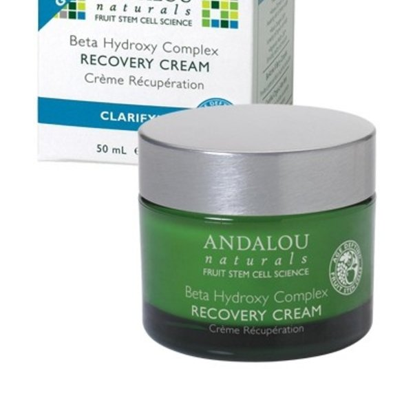 Andalou Naturals Andalou Clarifying Beta Hydroxy Complex Recovery Cream 50ml