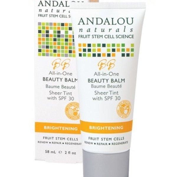 Andalou Naturals Andalou Brighening Beauty Balm Sheer Tint SPF 30 58ml