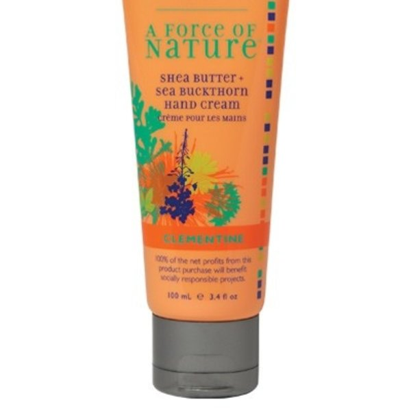 Andalou Naturals Andalou Hand Cream Clementine Shea Butter + Sea Buckthorn 100ml