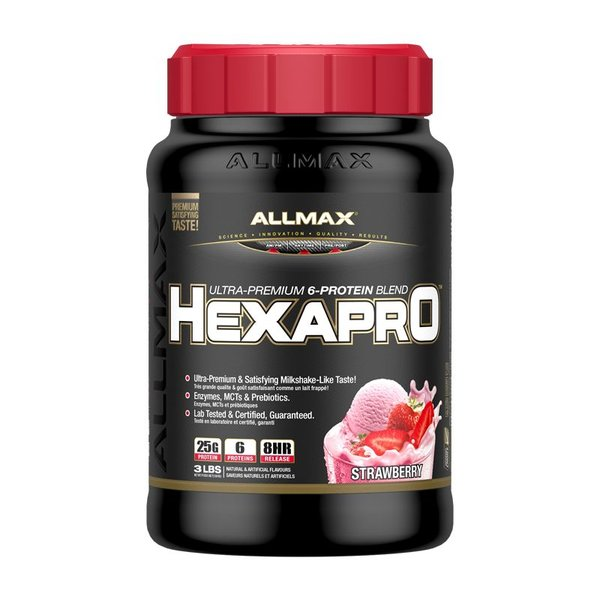 Allmax Nutrition Allmax Hexapro 3lb Strawberry