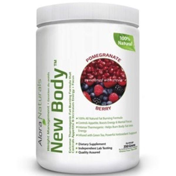 Alora Naturals Alora Naturals New Body Pomegranate Berry 350g