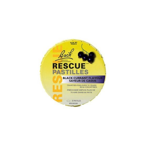 Bach Flower Bach Rescue Pastilles Black Currant 50g
