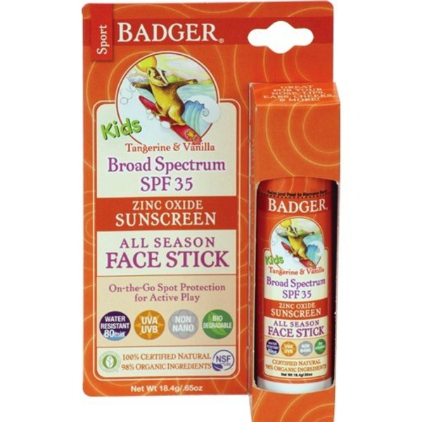 Badger Badger All Season Kds Face Stick SPF 35 18.5g