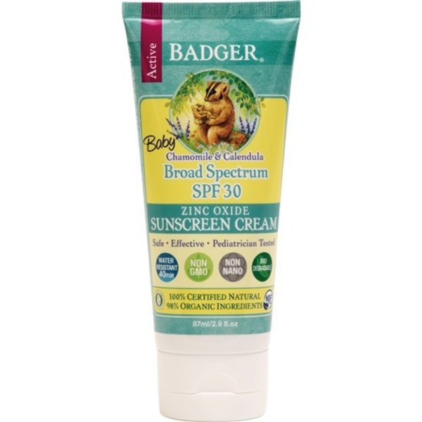 Badger Badger Sunscreen Baby SPF 30 Cream 87ml