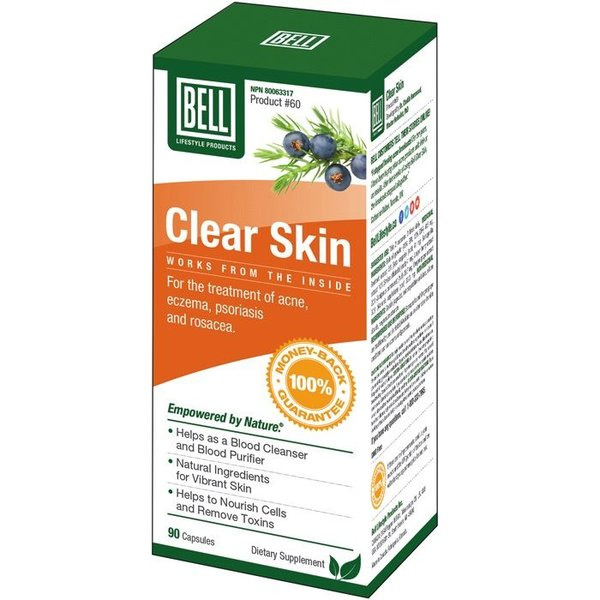 Bell Lifestyle Bell Clear Skin 90 caps