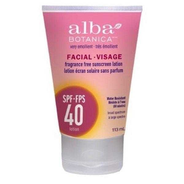 Alba Botanica Alba Facial Sunscreen SPF 40 120ml