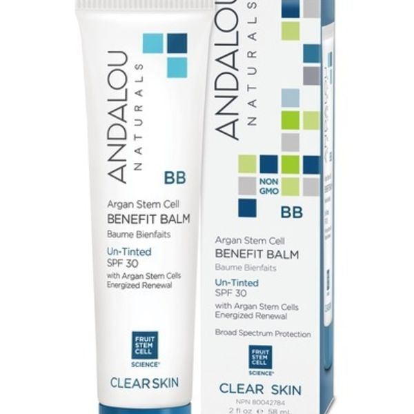 Andalou Naturals Andalou Clarifying Oil Control Beauty Balm Untinted SPF 30 58ml