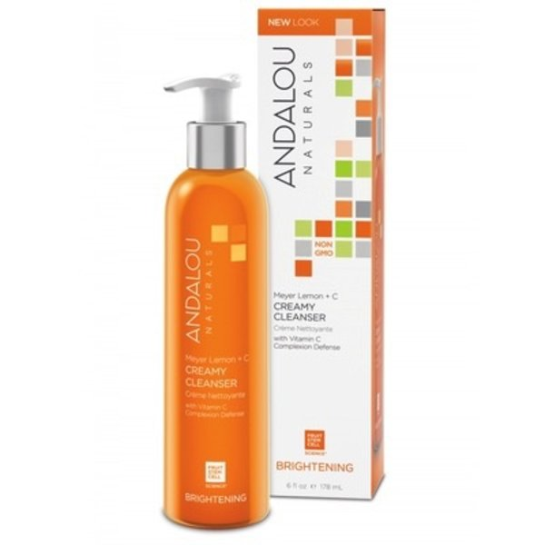 Andalou Naturals Andalou Brightening Meyer Lemon Creamy Cleanser 178ml