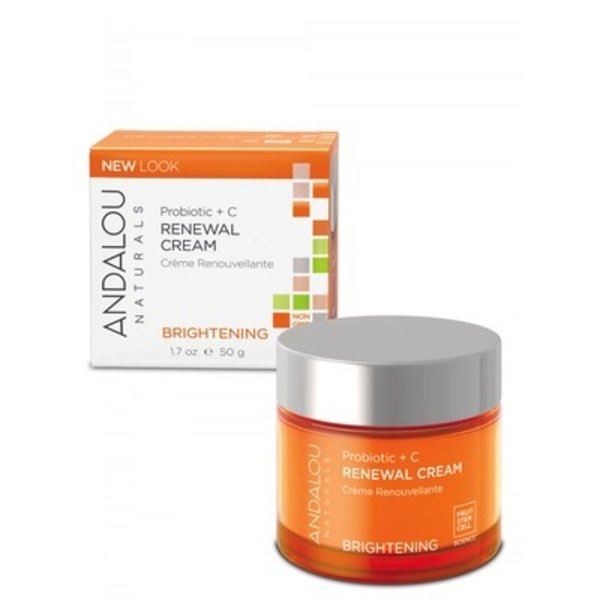Andalou Naturals Andalou Brightening Probiotic + C Renewal Cream 50ml