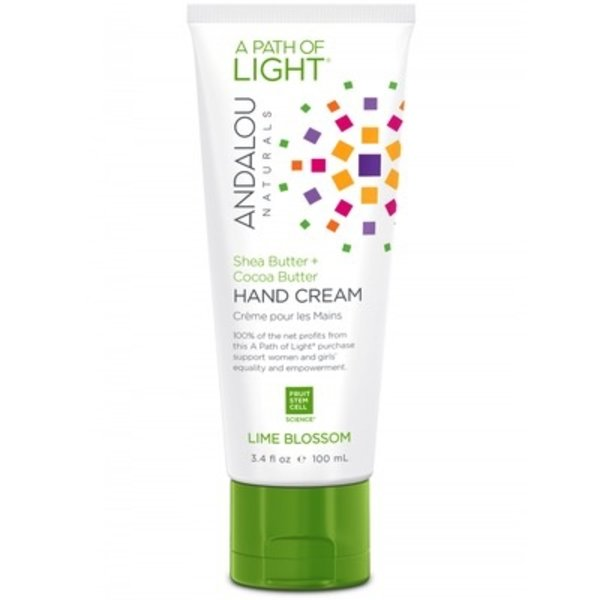 Andalou Naturals Andalou Hand Cream Lime Blossom Shea Butter + Coconut 100ml