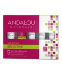 Andalou Naturals Andalou Get Started Sensitive 1000 Roses Kit 5 pcs