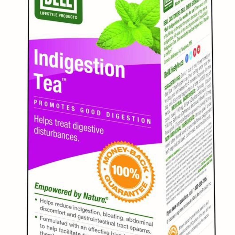 bell acid reflux & indigestion tea 30 caps - vitamin king - sports