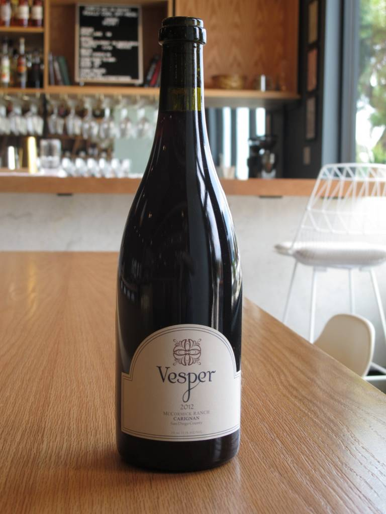 Vesper Vineyards 2012 Vesper Vineyards Carignan McCormick Ranch 750mL