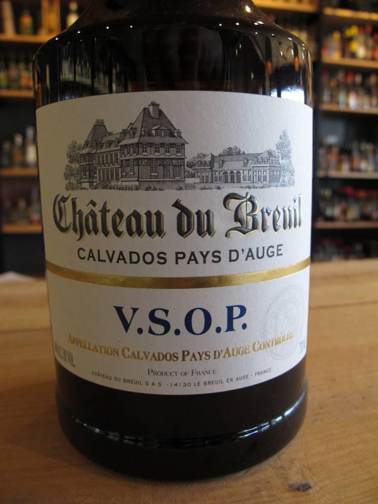 Château du Breuil Château du Breuil Calvados Pays d'Auge VSOP 750mL