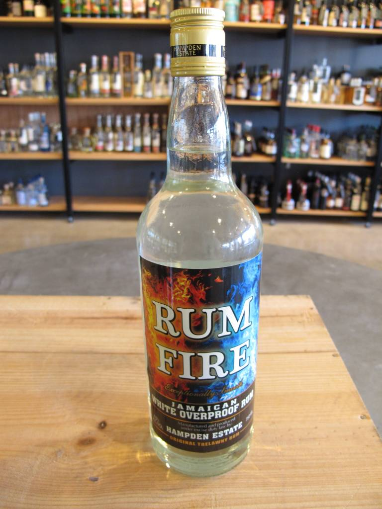 Hampden Estate Rum Fire Overproof Jamaican Rum 750ML