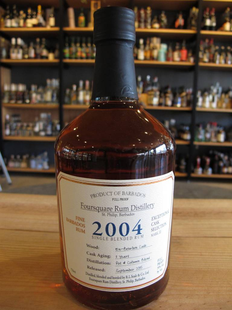 Foursquare 2004 Foursquare Single Blended Rum 750mL