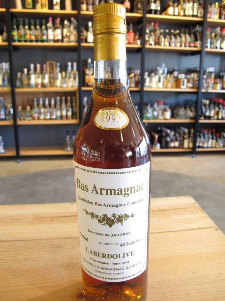 Laberdolive 1992 Laberdolive Domaine de Jaurrey Bas Armagnac 750mL