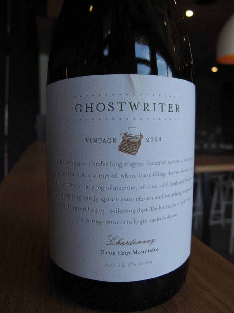 Ghostwriter 2014 Ghostwriter Chardonnay 750ml