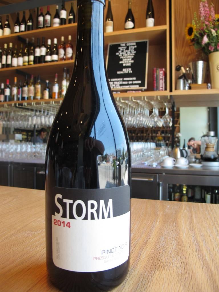 Storm 2014 Storm Pinot Noir Presqu'ile Vineyard 750mL