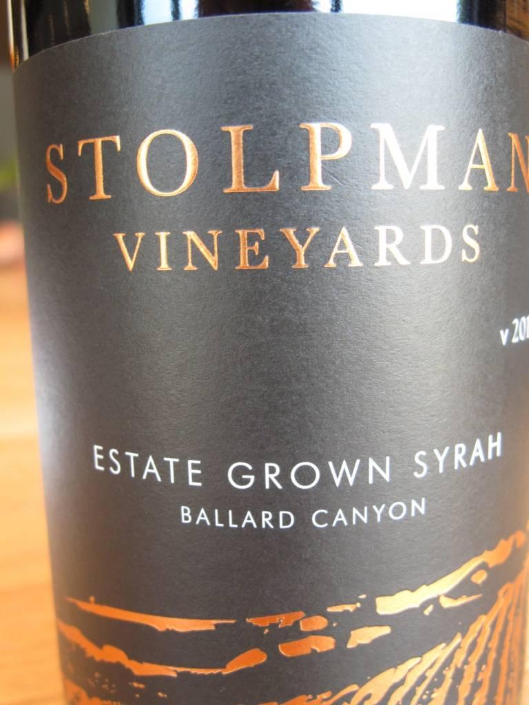 Stolpman Vineyards 2014 Stolpman Vineyards Santa Ynez Valley Syrah Estate Grown 750mL