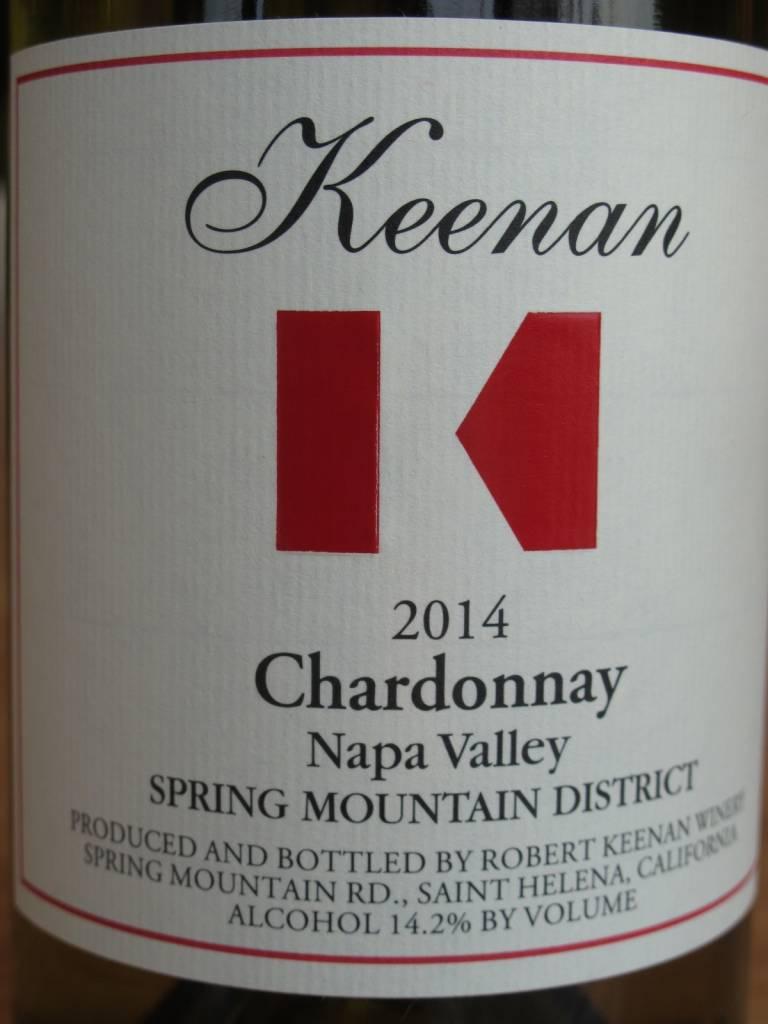Keenan Winery 2015 Keenan Spring Mountain Chardonnay 750mL