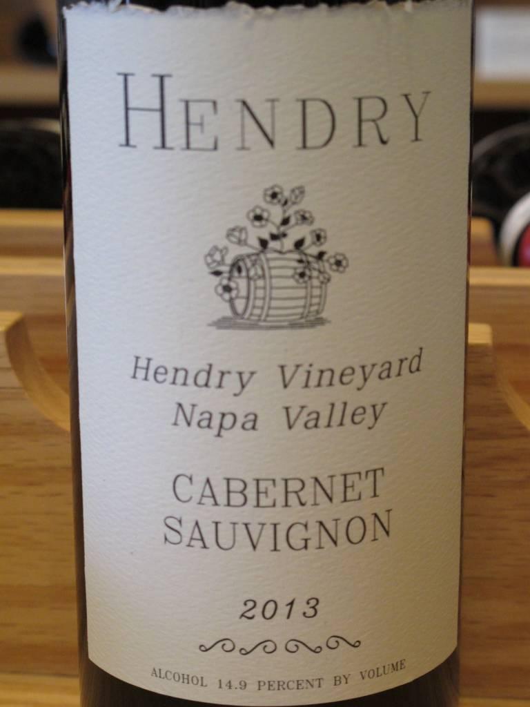 Hendry 2013 Hendry Cabernet Sauvignon Hendry Vineyard 750mL