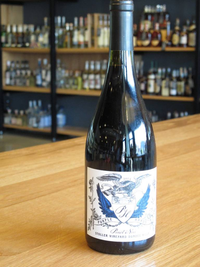 Purple Hands 2014 Purple Hands Stroller Vineyard Pinot Noir 750ml