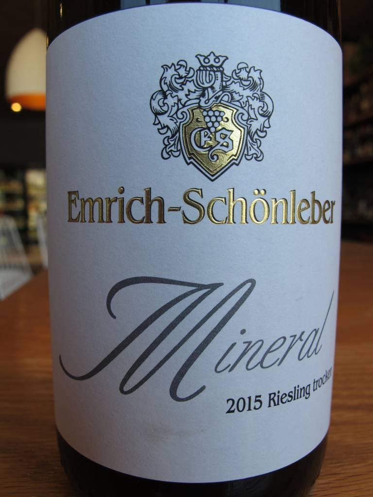 Emrich-Schönleber 2015 Emrich-Schönleber Riesling Trocken ''Mineral'' 750mL