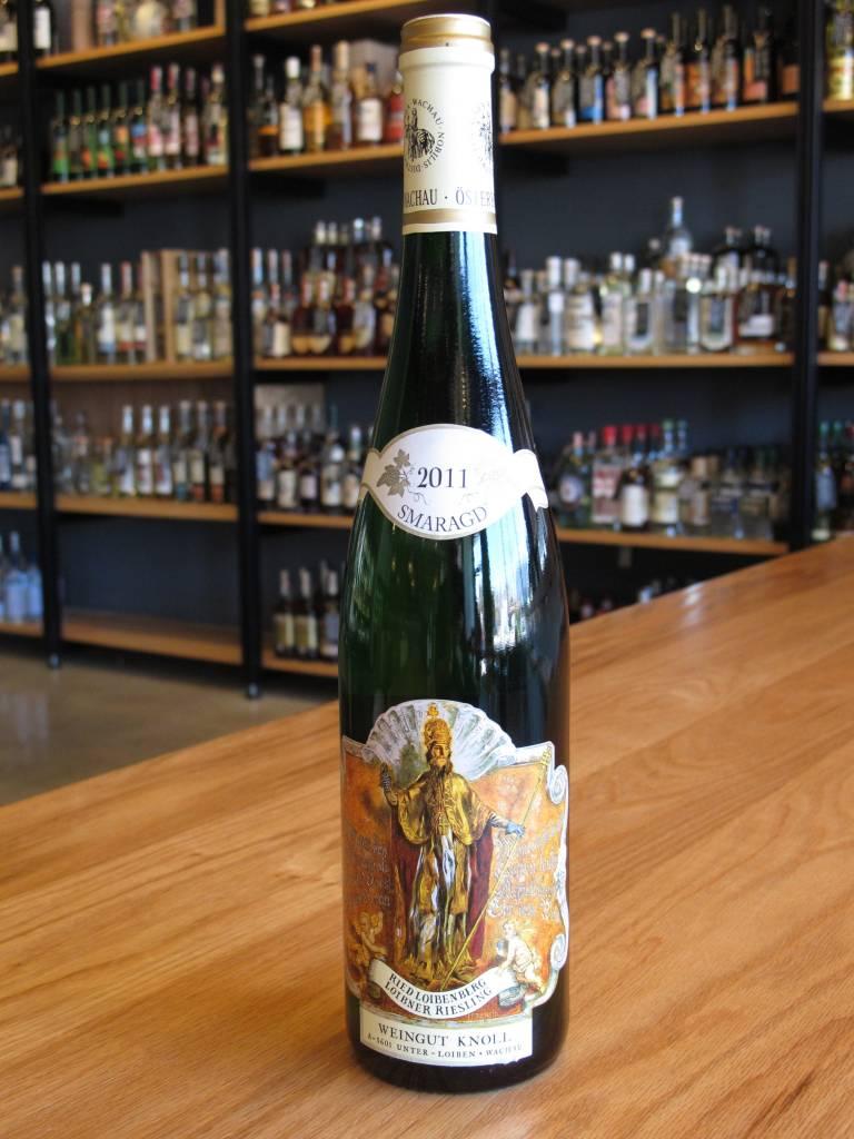 Weingut Emmerich Knoll 2011 Weingut Emmerich Knoll Riesling Smaragd Ried Loibenberg 750mL