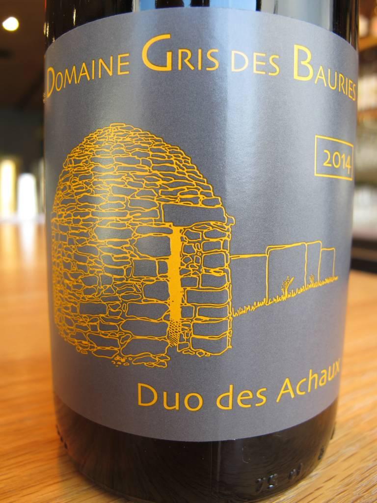 Domaine Gris des Bauries 2014 Domaine Gris des Bauries Duo des Achaux 750mL
