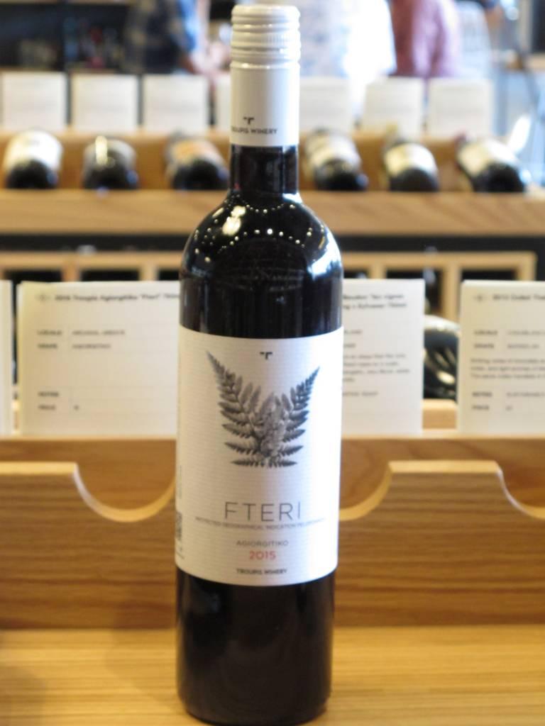 Troupis Winery 2015 Troupis Agiorgitiko ''Fteri'' 750ml