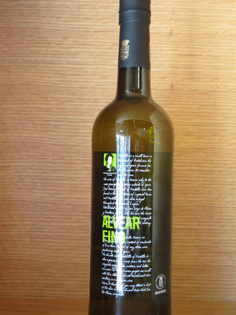 Alvear Alvear Fino Sherry 750ML