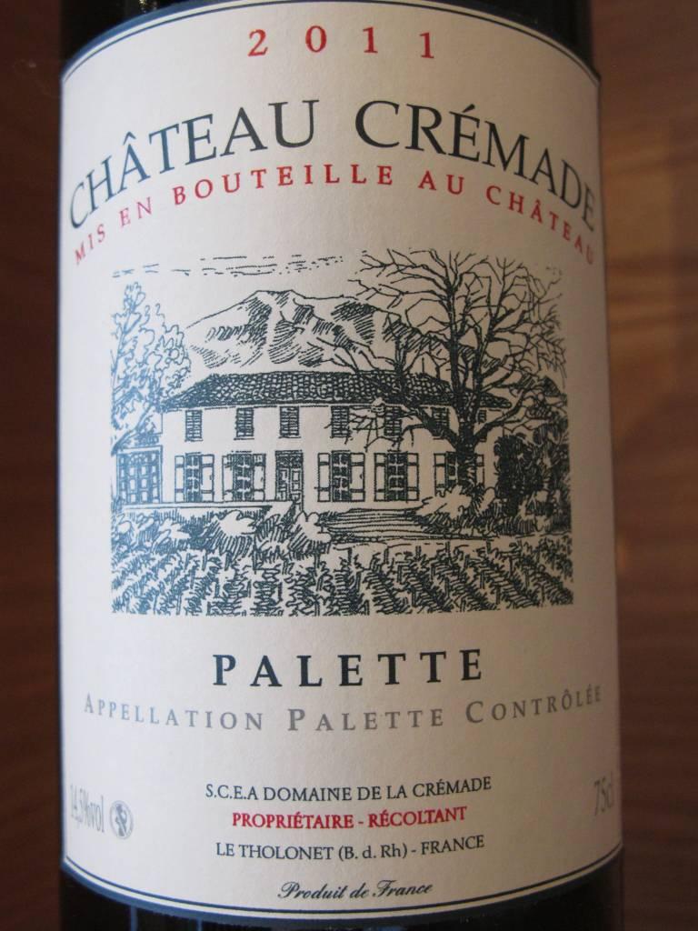 Château Crémade 2011 Château Crémade Palette Rouge 750ml