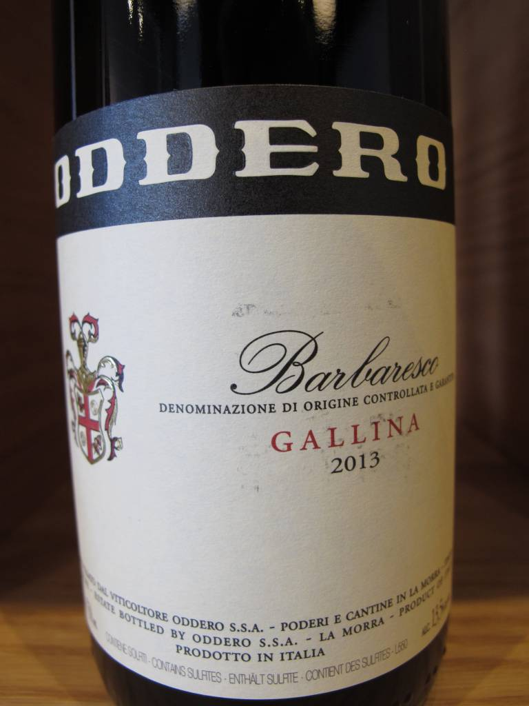 Oddero 2013 Oddero Barbaresco Gallina 750ml
