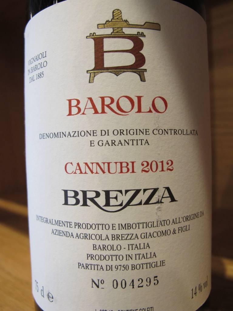 Brezza 2012 Brezza Barolo Cannubi 750ml