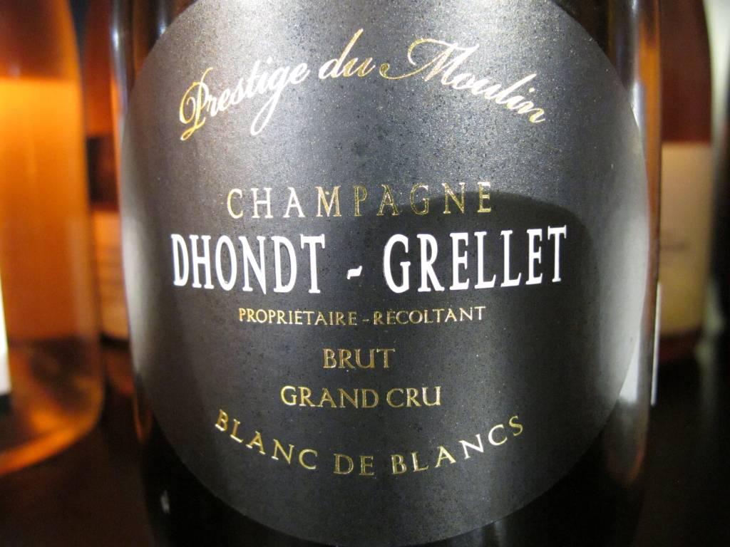 """Champagne Dhondt-Grellet NV Dhondt-Grellet Brut Blanc de Blancs Grand Cru """"Prestige du Moulin"""" 750mL"""