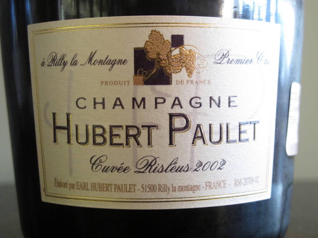 Hubert Paulet 2002 Hubert Paulet Cuvée Risléus 750ml