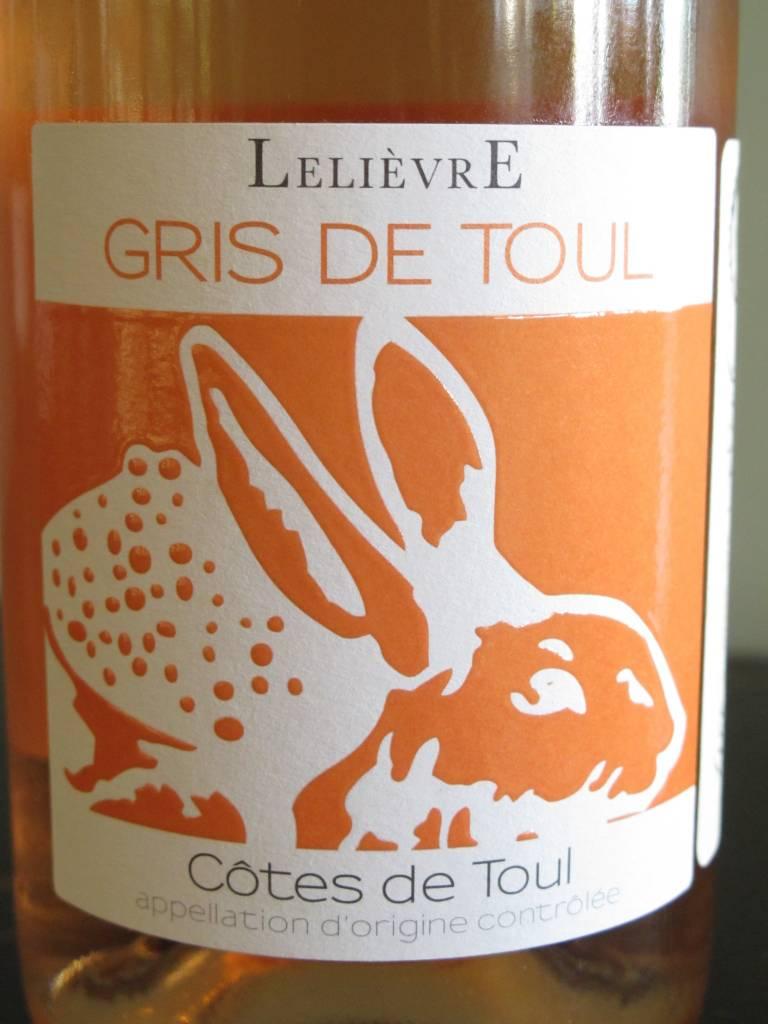 Lelièvre 2016 Lelièvre Gris De Toul Rosé 750ml