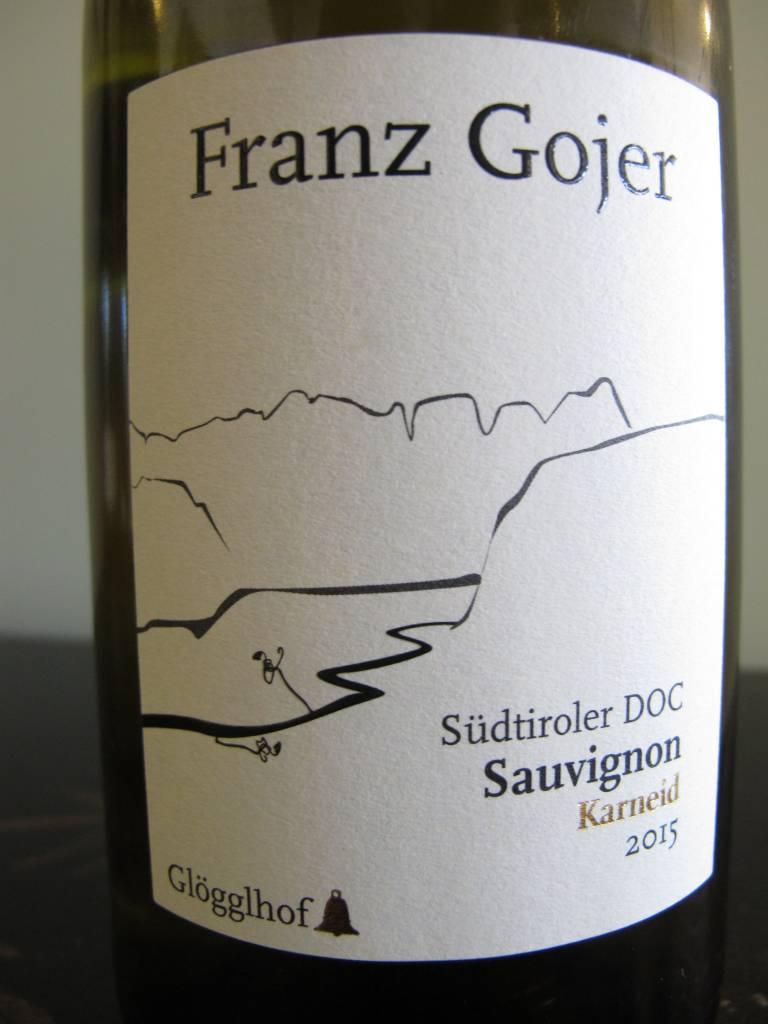 Franz Gojer 2015 Franz Gojer Sauvignon Blanc ''Karneid'' 750ml