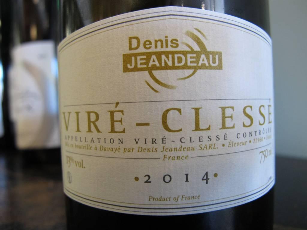 Denis Jeandeau 2014 Denis Jeandeau Viré-Clessé 750ml