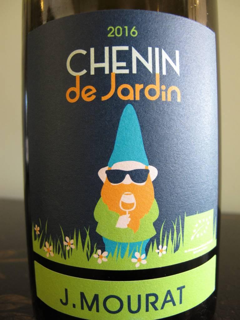 J Mourat 2016 J. Mourat Chenin de Jardin 750mL