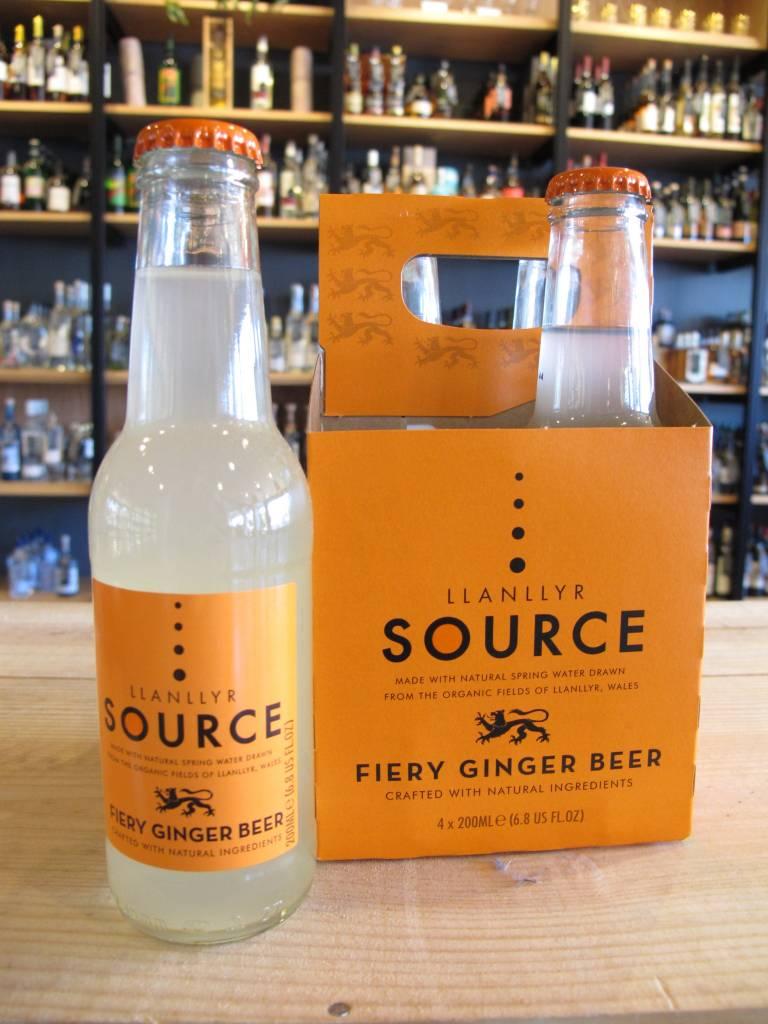 Llanllyr Llanllyr Source Ginger Beer 4 Pack 200mL