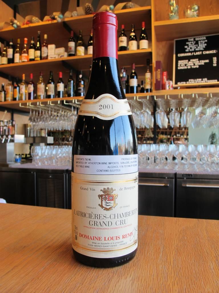 Domaine Louis Remy 2001 Domaine Louis Remy Latricières-Chambertin 750ml