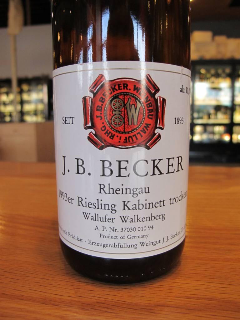 Weingut J.B. Becker 1993 J.B. Becker Wallufer Walkenberg Riesling Kabinett trocken 750mL