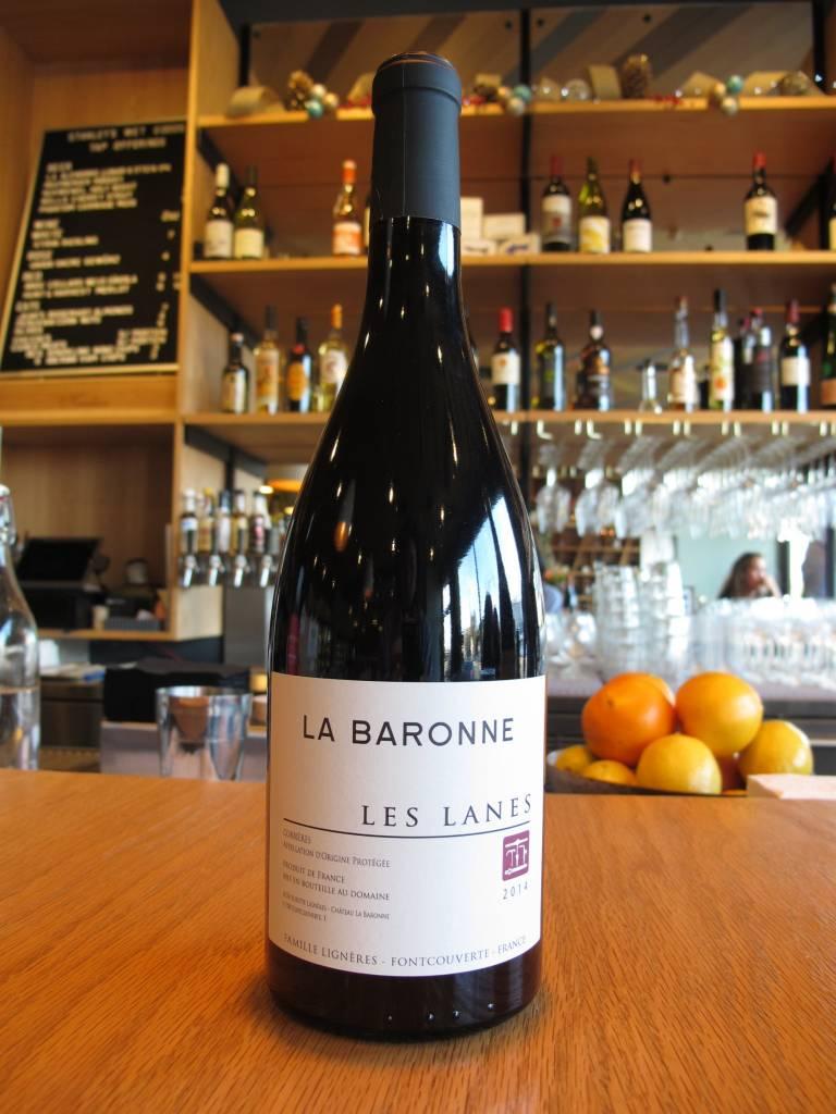 La Baronne 2014 La Baronne Les Lanes 750mL