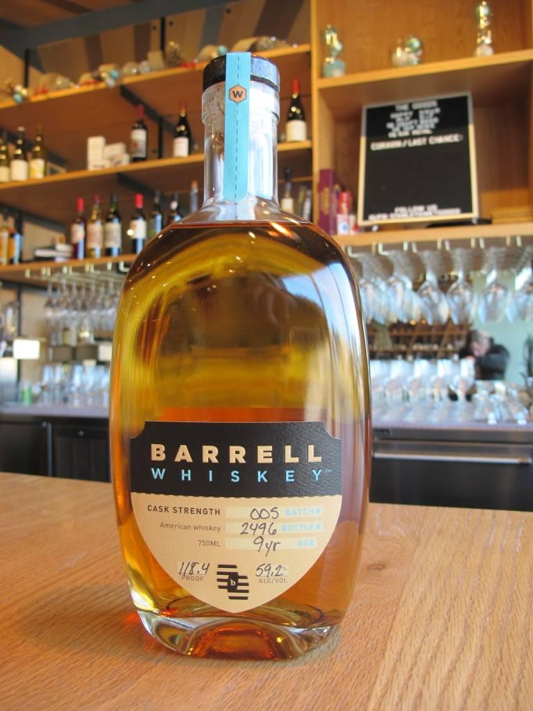 Barrell Bourbon Barrell Whiskey Batch #005 9 Year 750ml