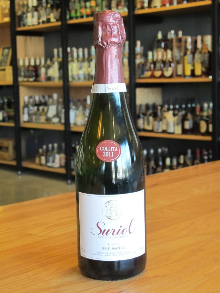 Cellers de Can Suriol del Castell 2013 Cellers de Can Suriol del Castell Cava Reserva Brut Nature 750ml