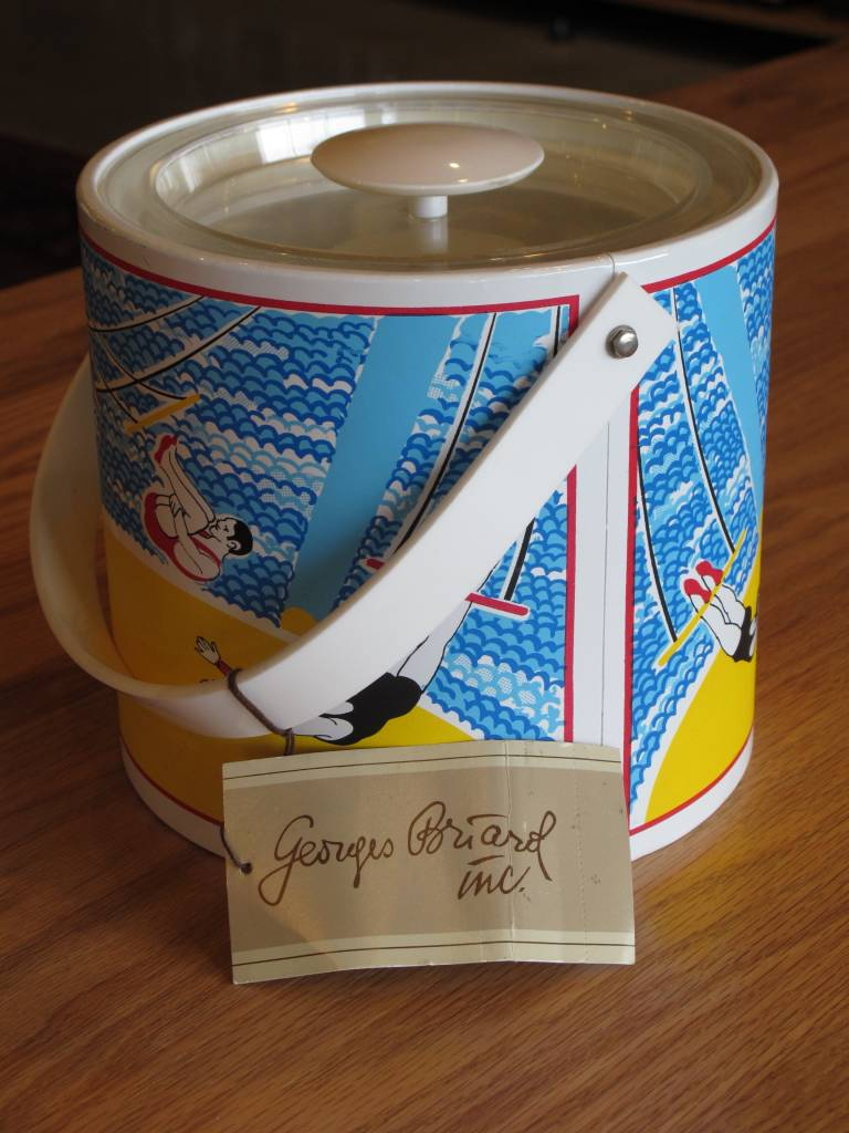 Georges Briard Vintage Georges Briard Circus Trapeze Ice Bucket